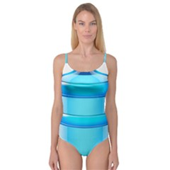 Large Water Bottle Camisole Leotard