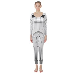 Wheel Skin Cover Long Sleeve Catsuit