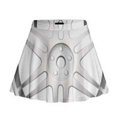 Wheel Skin Cover Mini Flare Skirt