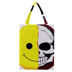 Skull Behind Your Smile Classic Tote Bag