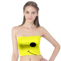 Skull Behind Your Smile Tube Top