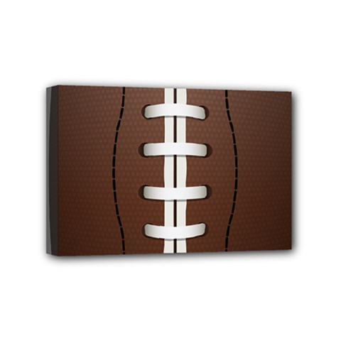Football Ball Mini Canvas 6  X 4