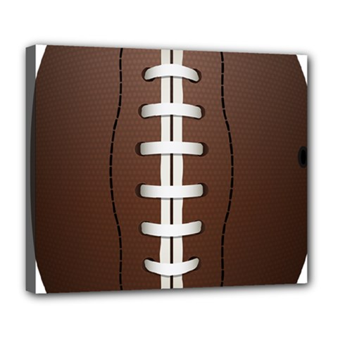 Football Ball Deluxe Canvas 24  X 20