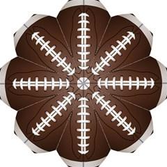 Football Ball Hook Handle Umbrellas (medium)