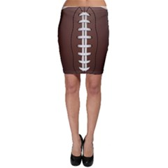 Football Ball Bodycon Skirt