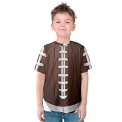 Football Ball Kids  Cotton Tee