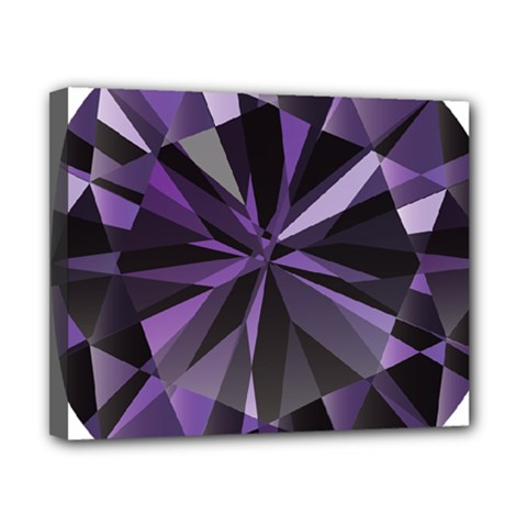Amethyst Canvas 10  X 8