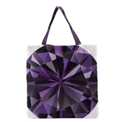 Amethyst Grocery Tote Bag