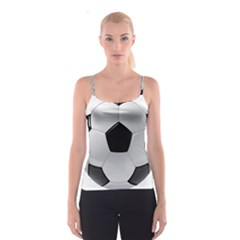 Soccer Ball Spaghetti Strap Top