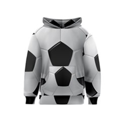 Soccer Ball Kids  Pullover Hoodie