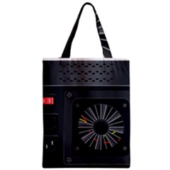 Special Black Power Supply Computer Classic Tote Bag