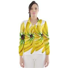 Bananas Decoration Wind Breaker (women)