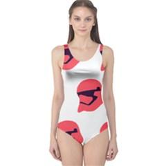 Stormtroper Pattern  One Piece Swimsuit