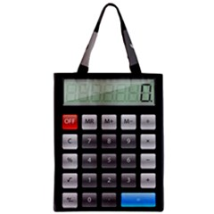 Calculator Zipper Classic Tote Bag