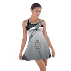 Computer Hard Disk Drive Hdd Cotton Racerback Dress