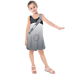 Computer Hard Disk Drive Hdd Kids  Sleeveless Dress