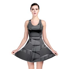 Tire Reversible Skater Dress