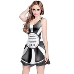 12v Computer Fan Reversible Sleeveless Dress