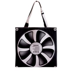 12v Computer Fan Grocery Tote Bag