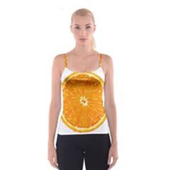 Orange Slice Spaghetti Strap Top
