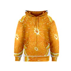 Orange Slice Kids  Zipper Hoodie