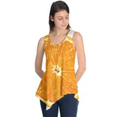 Orange Slice Sleeveless Tunic
