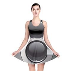 Washing Machine Reversible Skater Dress