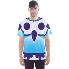 Owl Logo Clip Art Men s Sports Mesh Tee