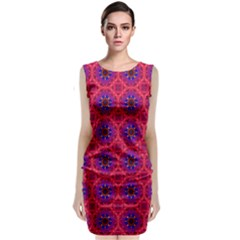Retro Abstract Boho Unique Classic Sleeveless Midi Dress