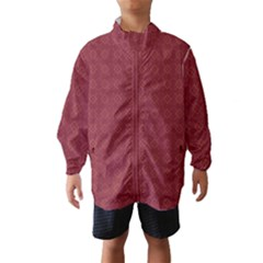 Purple Pattern Background Texture Wind Breaker (kids)