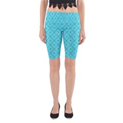 Pattern Background Texture Yoga Cropped Leggings