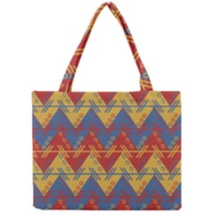 Aztec South American Pattern Zig Mini Tote Bag
