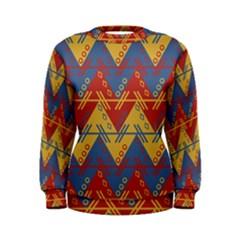 Aztec South American Pattern Zig Women s Sweatshirt