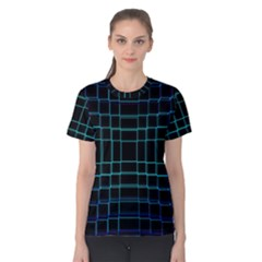 Abstract Adobe Photoshop Background Beautiful Women s Cotton Tee
