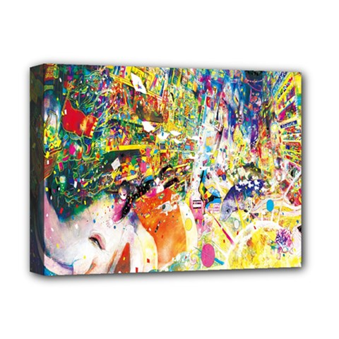 Multicolor Anime Colors Colorful Deluxe Canvas 16  X 12