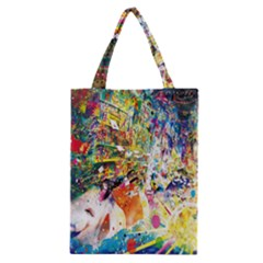 Multicolor Anime Colors Colorful Classic Tote Bag