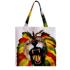 Reggae Lion Grocery Tote Bag