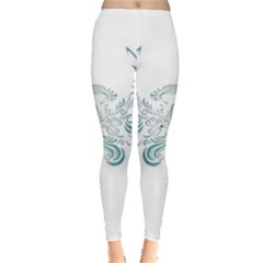 Angel Tribal Art Leggings