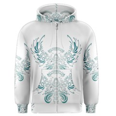 Angel Tribal Art Men s Zipper Hoodie