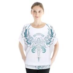 Angel Tribal Art Blouse