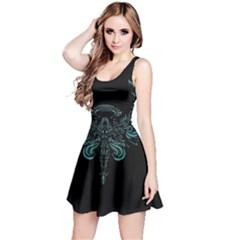 Angel Tribal Art Reversible Sleeveless Dress