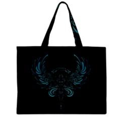 Angel Tribal Art Zipper Mini Tote Bag