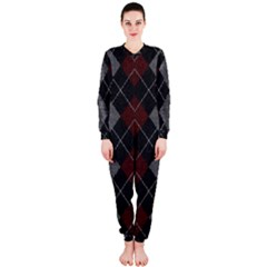 Wool Texture With Great Pattern Onepiece Jumpsuit (ladies)