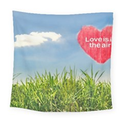 Love Concept Poster Square Tapestry (large)