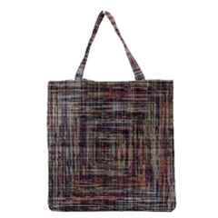 Unique Pattern Grocery Tote Bag