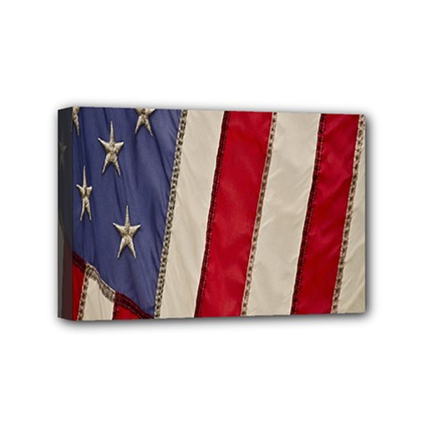 Usa Flag Mini Canvas 6  X 4