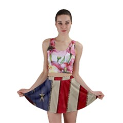 Usa Flag Mini Skirt