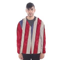 Usa Flag Hooded Wind Breaker (men)