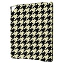 HOUNDSTOOTH2 BLACK MARBLE & BEIGE LINEN Apple iPad Pro 9.7   Hardshell Case View3