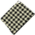 HOUNDSTOOTH2 BLACK MARBLE & BEIGE LINEN Apple iPad Pro 9.7   Hardshell Case View5